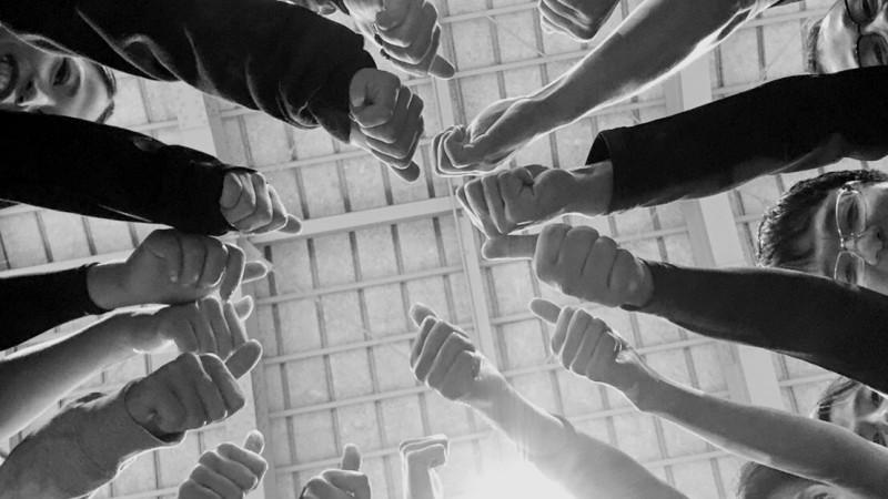 最高のチームワーク
